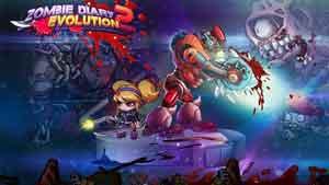 Скачать взломанный Zombie Diary 0: Evolution 0.2.2 возьми денежки да алмазы про Android